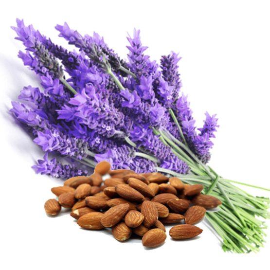 Massage-olie Amandel met 2% Lavendel