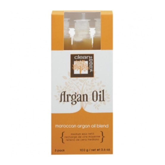 Clean&Easy Original Wax Refill Medium Argan