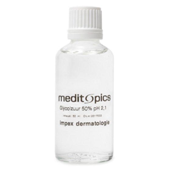 Meditopics Meditopics - AHA Glycolzuur gel 50% pH 2