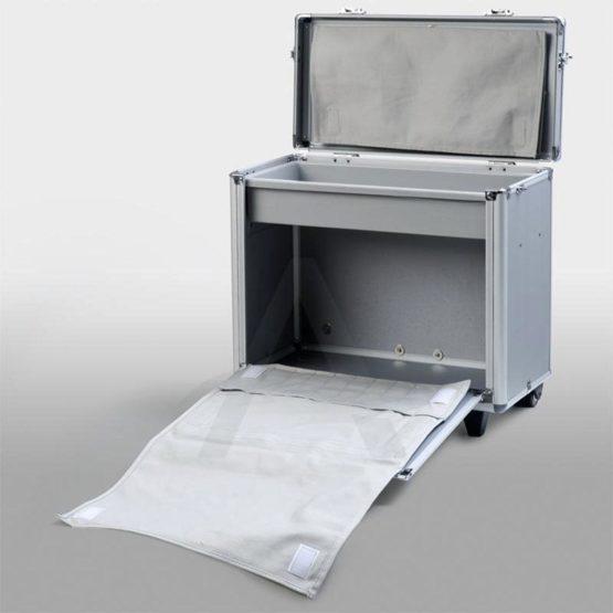Koffer met trolley