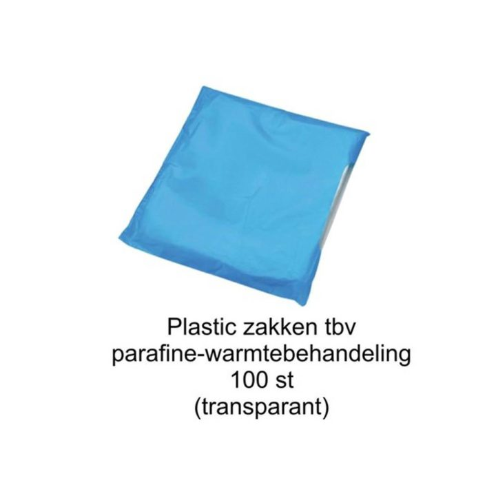Plastic zakken voor hand/voet-pakking