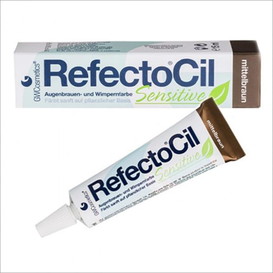 Refectocil Sensitive Refectocil sensitive Middelbruin