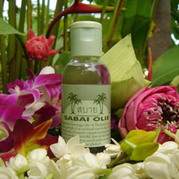 Sabai-olie (met lotus & jasmijn)