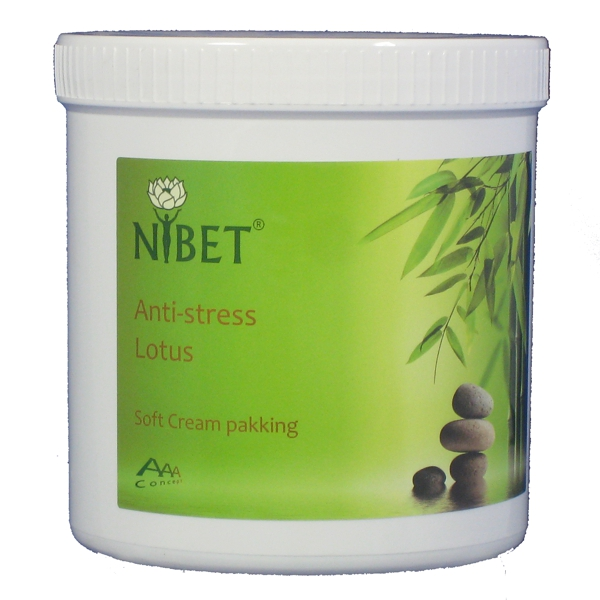 Anti-stress Lotus soft cream pakking