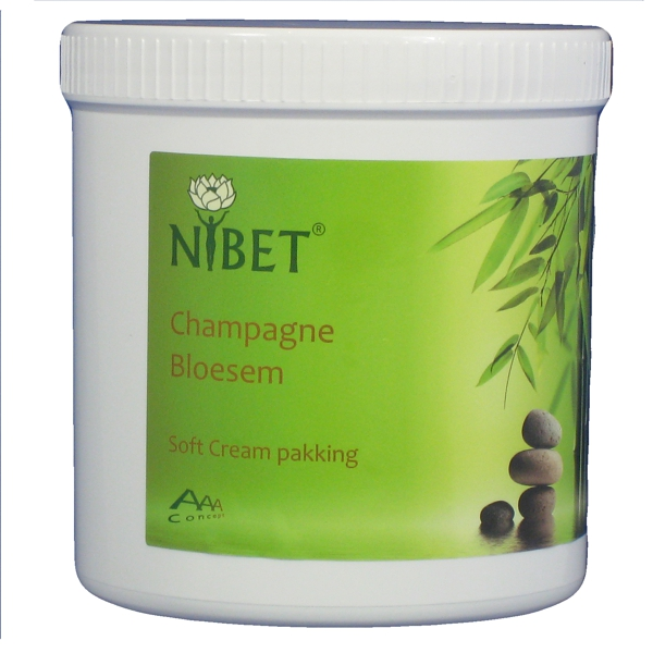 "Champagne Bloesem ""Exclusief soft cream"" pakking"
