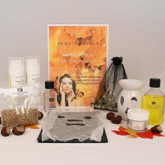 Beauté Royale Herfst/Winter Seizoensbehandeling Pakket (Gelaat)